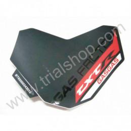 Adesivo Mascherina Faro Gas Gas Txt Racing 2012