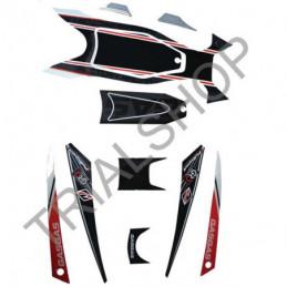 Kit Adesivi Cassa Filtro Racing 2012