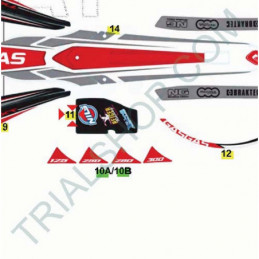 Adesivo Protezione Cassa Filtro Gas Gas Txt Racing 2016-2017