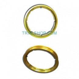 """Cerchio Ruota Posteriore 2,15 x 18″ 32T """"Evo"""" gold Sherco  MORAD"""