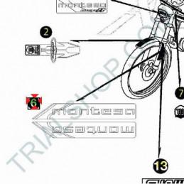 Adesivo forcella DX Montesa Cota 315 '97-'04