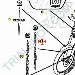 Adesivo forcella DX Montesa Cota 4RT '05-'06