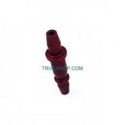 Raccordo tubo Benzina Rosso TRS