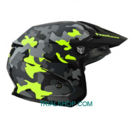 Casco Trial Zone 5 Monocolor Camo – Hebo –