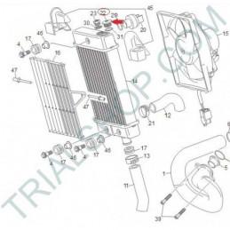 tappo radiatore TRIAL 2010