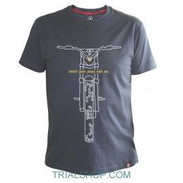 T-Shirt Ride Me Montesa...