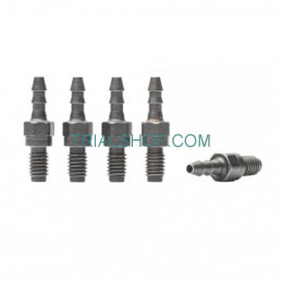 Barbed Fitting M6 per 5