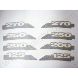 Adesivo Forcellone 2PZ Beta  Rev 3 -2007