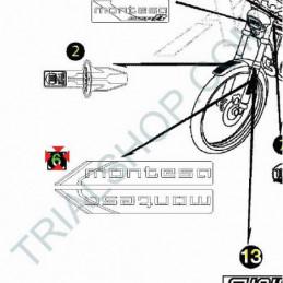 Adesivo forcella Sx Montesa Cota 4RT '05-'06