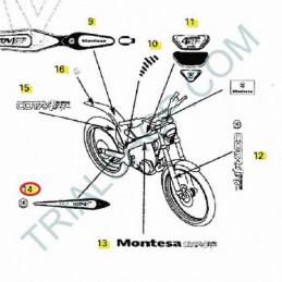 Adesivo forcellone Dx Montesa Cota 4RT '07